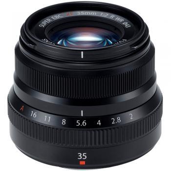 Fujifilm XF 35mm f/2 R WR Lens (Black)